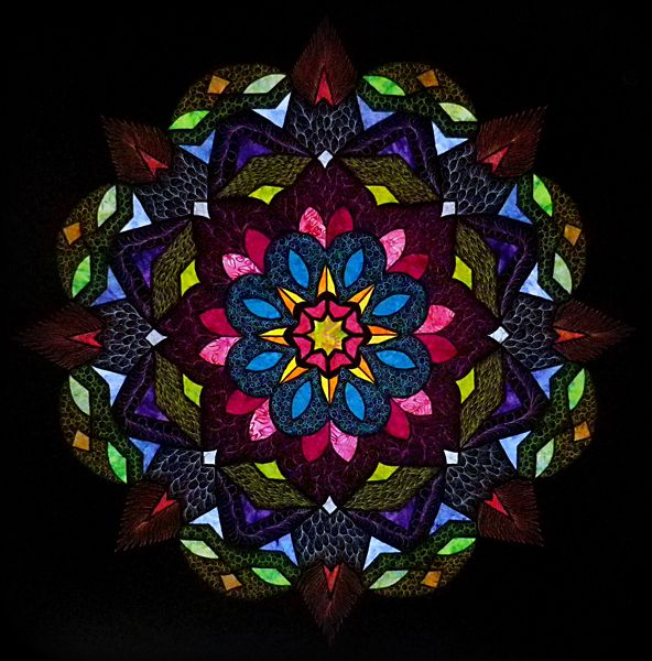 159 Best Kaleidoscope Quilts Images On Pinterest