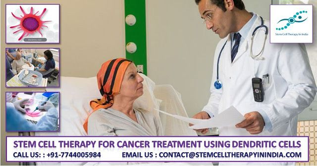 Stem Cell Therapy for Cancer Treatment using the Dendritic Cells in India
