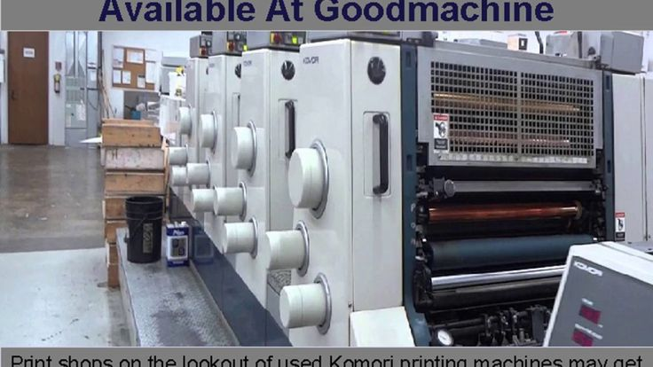 Used Heidelberg Printing Machines Dealer In Europe | Print shops aspiring to buy used printing press may contact Goodmachine, we sale Heidelberg MOVH, heidelberg sm 102 v, heidelberg cd 102 4, Used Heidelberg 72 v, HEIDELBERG UV PRESS, Heidelberg SM 74 and many more. To buy Used Heidelberg Printing Machines. Contact us Or call now at Phone - +420358880113  https://goo.gl/giZhcH