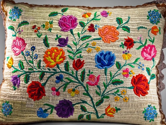 Hungarian Matyo embroidery -Hungary