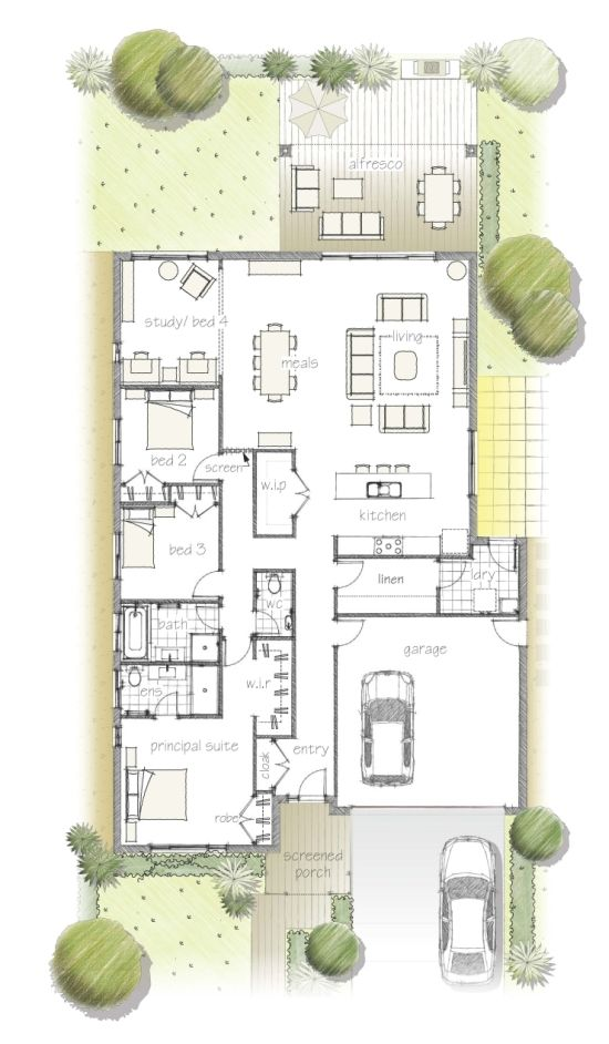 98 best Pôdorys images on Pinterest Floor plans, Small houses and
