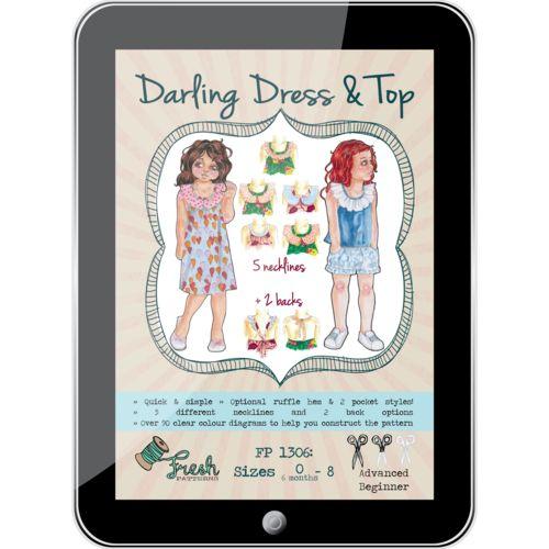 Darling Dress & Top PDF Pattern