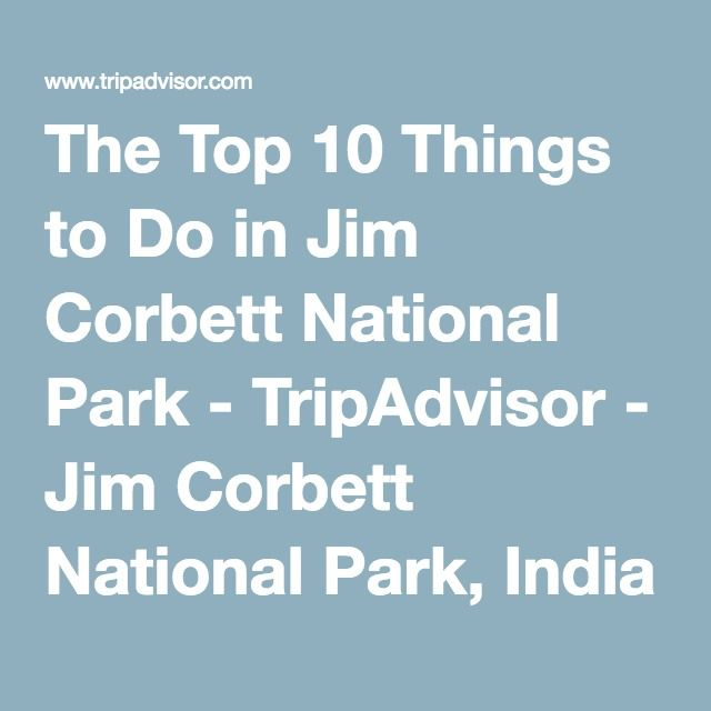 The Top 10 Things to Do in Jim Corbett National Park - TripAdvisor - Jim Corbett National Park, India Attractions - Find What to Do Today, This Weekend, or in July