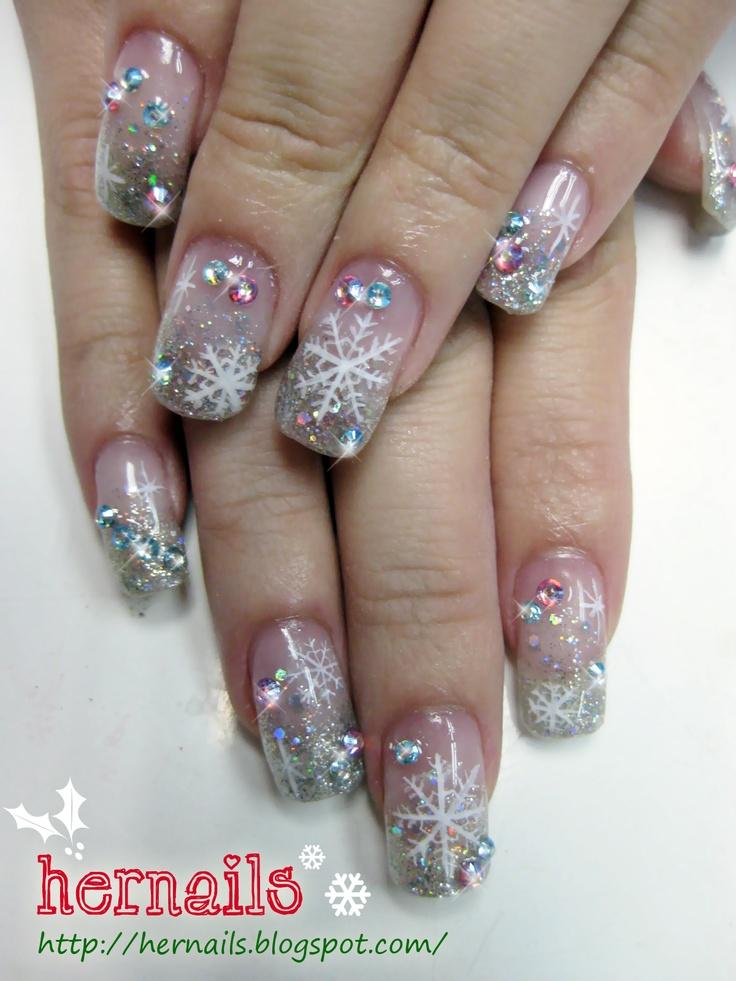 christmas nails nice nails
