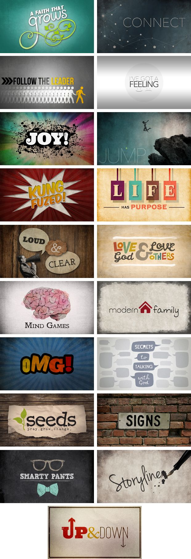 19 Editable Series Graphics Bundle - Stuff You Can Use | Youth Ministry Resources