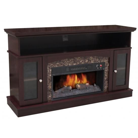 Electric Fireplace Media Unit Electronics I Want Pinterest Electric Fireplaces Walmart