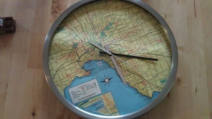 Retro melbourne map and old ikea clock map clocks pinterest retro melbourne map and old ikea clock map clocks pinterest clocks and melbourne gumiabroncs Images