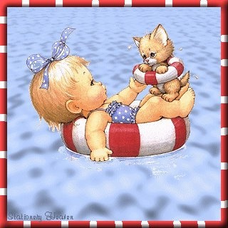 """Just chilling on a """"purr-fect"""" afternoon.: De Ruth, Forever Friends, Ruth Morehead, Clip Art, Blades For Decoupage, Precious Moments, Treasure Friendship, Clipart Children, Ruth Moorehead"""