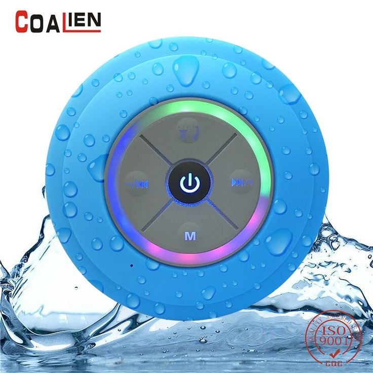 Cheaper US $11.13  COALIEN Waterproof Bluetooth Speakers Mini Wireless Portable Hands-free TF Card FM Radio Subwoofer Audio LED Music Speakers  Get discount for product: Laptop