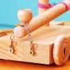 Zubehör für Ritterburg aus Holz selber bauen | EXPLI | Anleitung zum Selbermachen