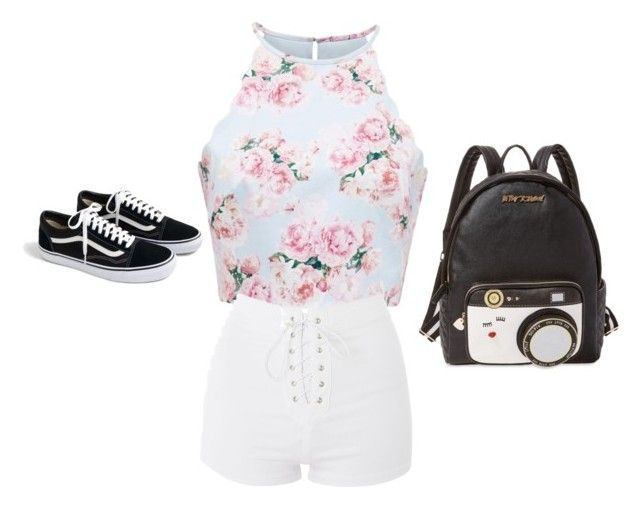 """Untitled #167"" by hanna-kucukovic on Polyvore featuring Topshop, J.Crew and Betsey Johnson"