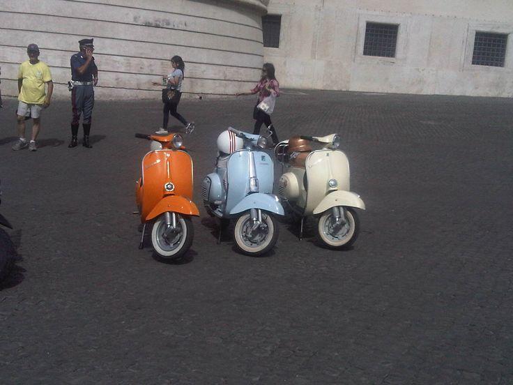 Raduno Vespa Roma