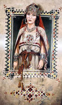 Berber woman - Algeria, Kabylie  afrik.com