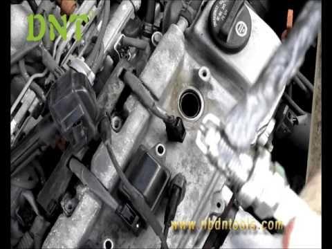 How to replace Toyota V6 spark plug?