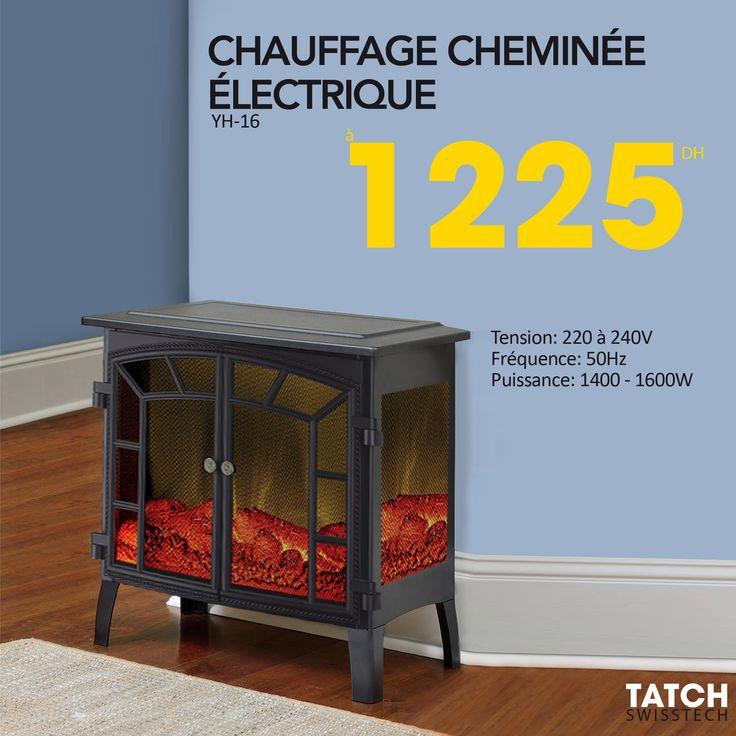 Notre Selection En Cheminee Electrique Plus De Choix Sur Notre Site Chauffage Hiver Winter Tatch Cheminee Fireplace Agadir