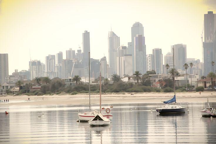 St. Kilda Beach,Melbourne,Australia
