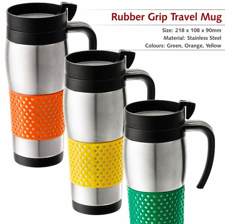 Rubber Grip Travel MUG  R25.50 excl Vat Offer valid until 10 April 2014