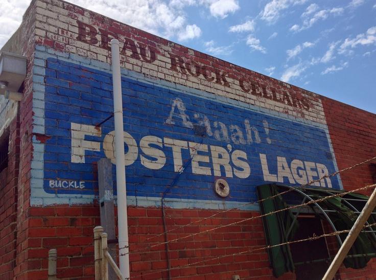 Old Fosters sign, Black Rock, Australia