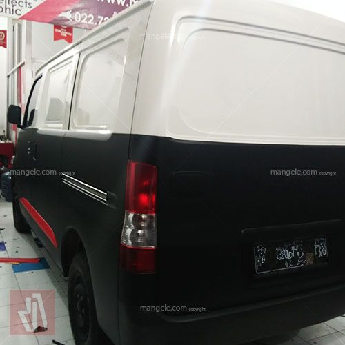 Grand max blind wrapping sticker mobil bandung pro www.mangele.com 081227722792