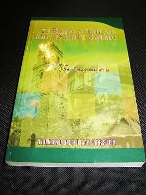 Ilokano New Testament with Psalms / Ti Naimbag A Damag Biblia ken Dagiti Salmo / Ilokano Popular Version New IPV 360 / Philippines
