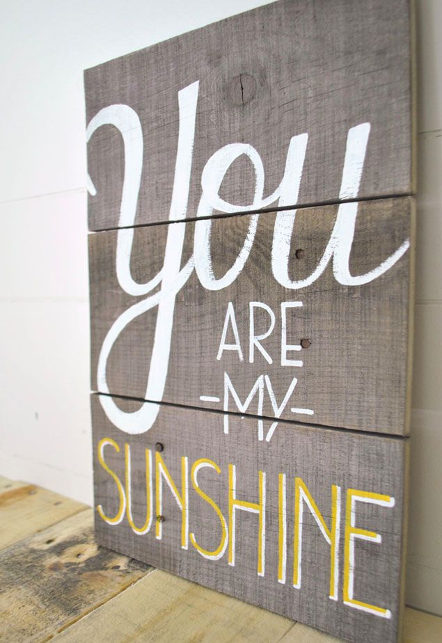 302 best painted signs... images on Pinterest | Bricolage, Craft ...