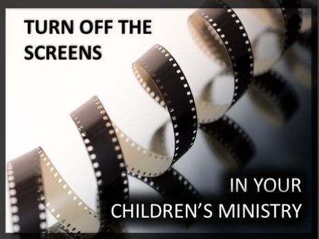 hands on learning, kids and screens, screen time for kids, church and screens, multi-sensory learning, interactive learning, children's ministry