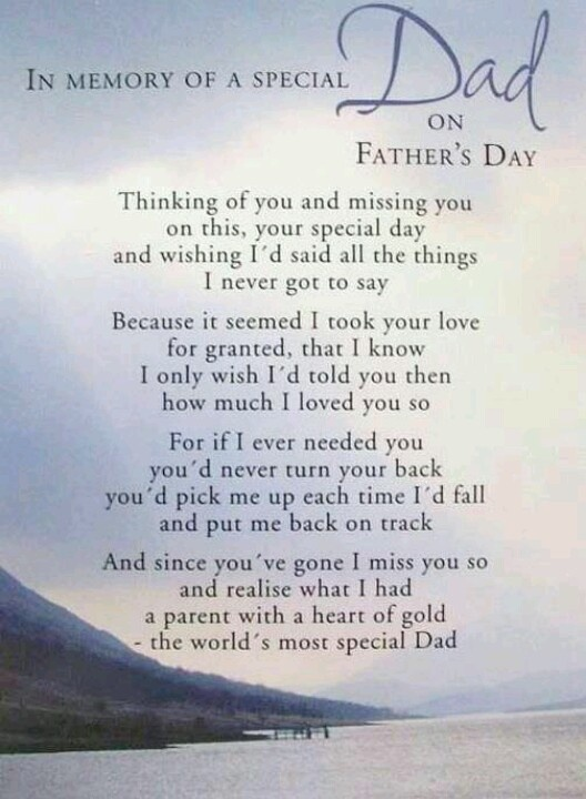 Happy Father's Day Dad. I miss you so much!