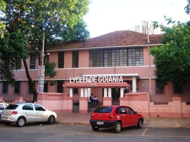 Escola Em Goiania Capital Do Estado De Goias Brasil