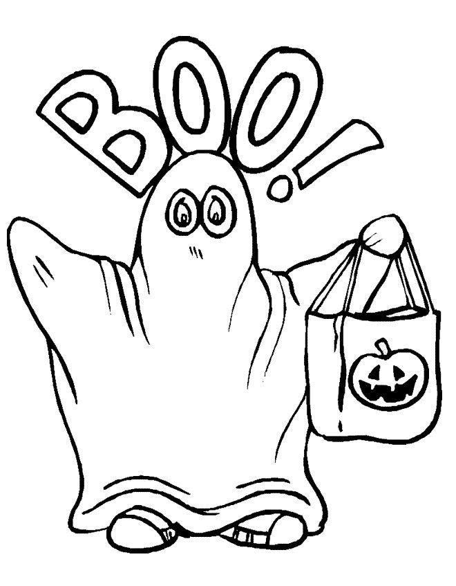 Desenhos para imprimir, colorir e pintar de Halloween (Dia das Bruxas)