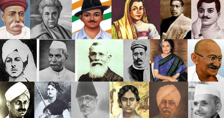 Freedom Fighters of India People