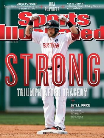 Boston Strong Sports Illustrated Cover