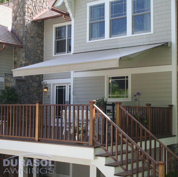 Durasol Awnings > Deck & Patio > SunCassette Family > Bella                                                                                                                                                     More