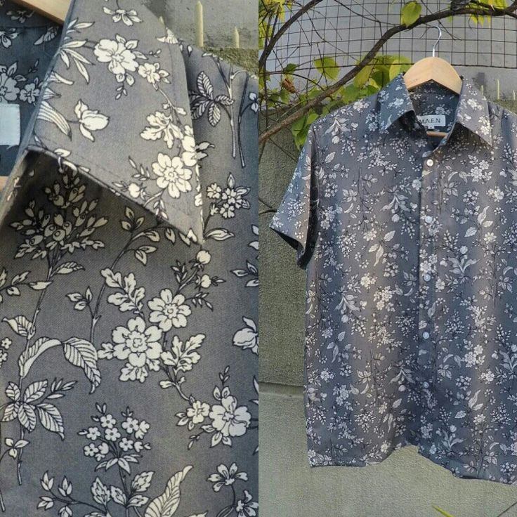 #shirt  #pocketshirt #flowerpattern #lokalbrand #madeinindonesia 149K