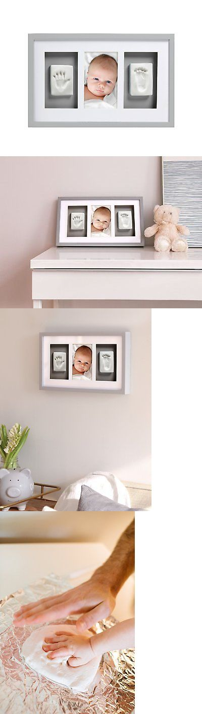 Handprint Kits 162037: Pearhead Babyprints Newborn Baby Handprint And Footprint Deluxe Wall Photo Frame -> BUY IT NOW ONLY: $43.45 on eBay!