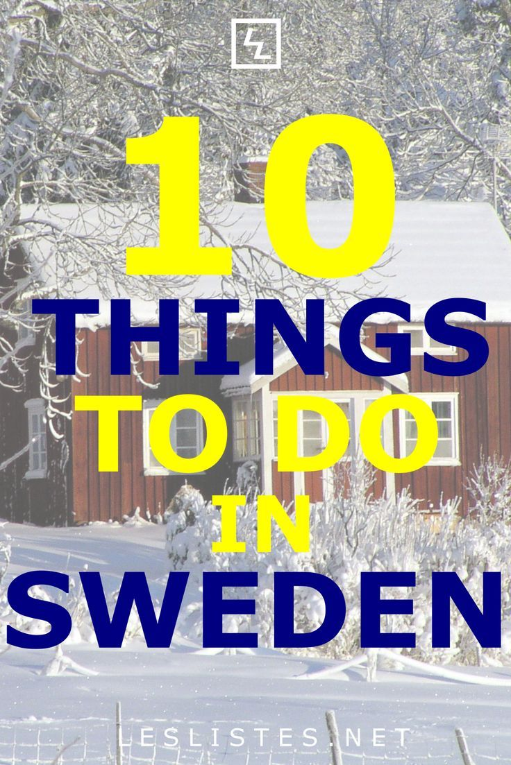 Sweden Is A Scandinavian Country With 1 000s Of Inland Lakes And Coastal Islands Check Out The Top 10 Things To Sweden Travel Things To Do Scandinavia Travel