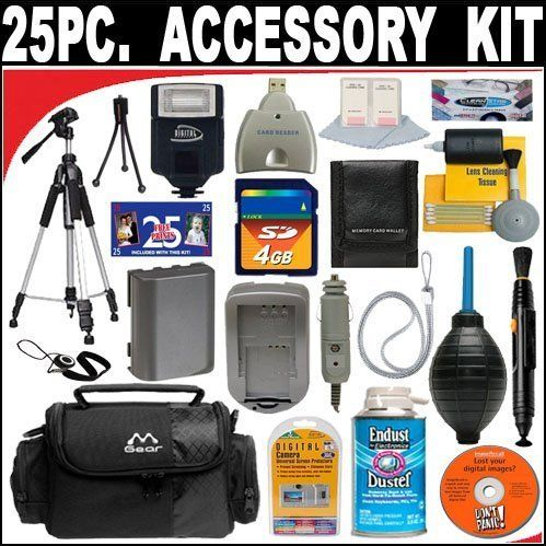 25 PC ULTIMATE SUPER SAVINGS DELUXE DB ROTH ACCESSORY KIT FOR THE PANASONIC LUMIX DMC-TZ2 DMC-TZ3 DMC-TZ4 DMC-TZ5 DIGITAL CAMERAS + BONUS Gift = Waterproof Camera = Great For Kids THIS 25 PC KIT CONTAINS EVERYTHING YOU NEED FOR YOUR PANASONIC LUMIX DMC-TZ2 DMC-TZ3 DMC-TZ4 DMC-TZ5 DIGITAL CAMERAS. EVERYTHING IN THIS KIT IS BRAND NEW ITEMS WITH ALL MANUFACTURER SUPPLIED ACCESSORIES + FULL USA WARRAN... #DBROTH #Photography