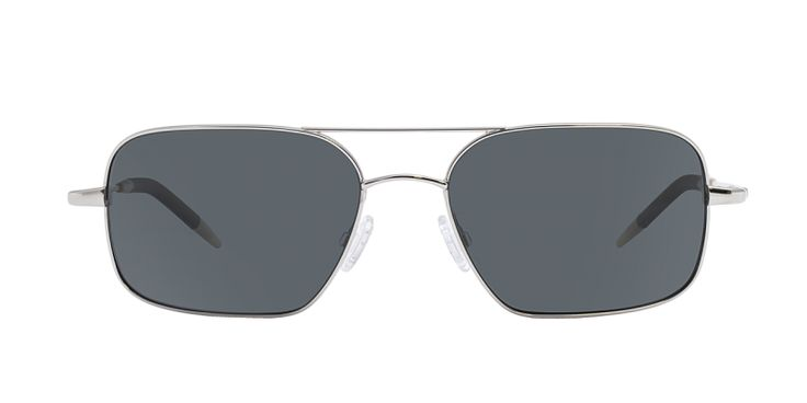 Oliver Peoples | Victory Silver with Midnight Express Polarized Glass Sunglasses by Oliver Peoples