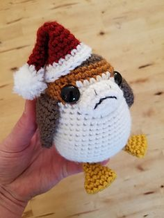 Woo! New Star Wars Characters! This adorable Porg, dressed up in a Santa Hat, is super easy to make! You can have your own army of Porgs to accompany you to the midnight screening of the Last Jedi!