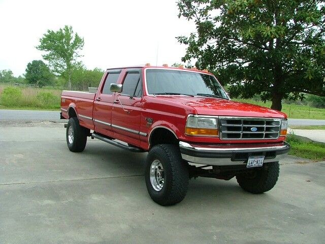 F 250 4x4 4 Suspension Lift Lift 1990 Body Inch Inch Ford 2
