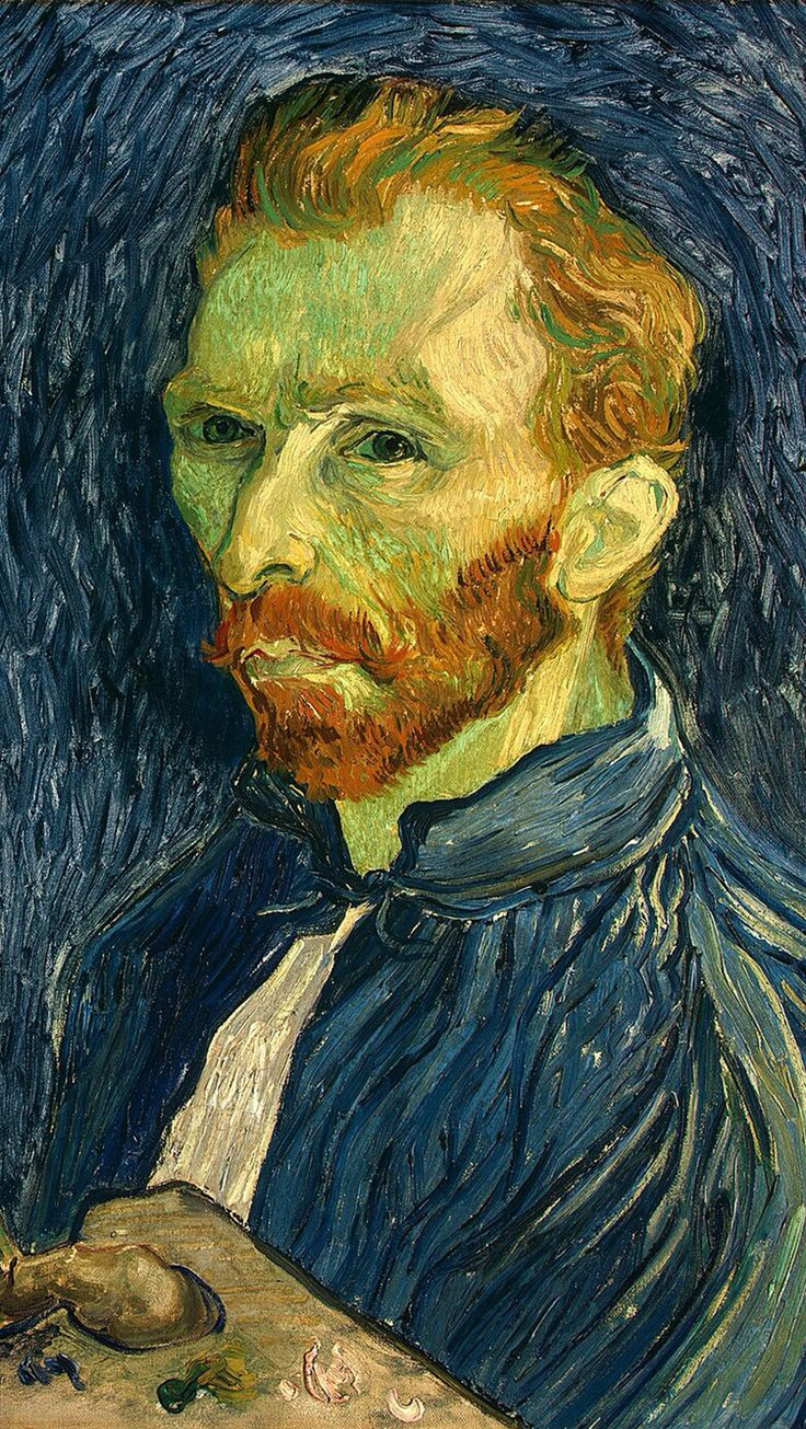 Van Gogh s painting in iPhone wallpaper