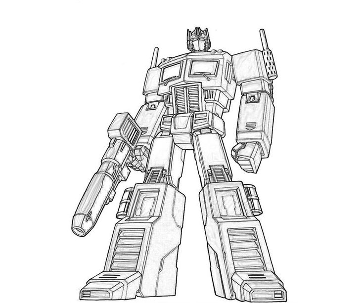 hasbro transformer coloring pages - photo#33
