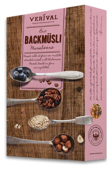 Verival Backmüsli Moosbeere - Bild: VERIVAL Bio
