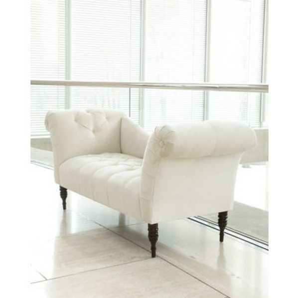 Couches benches white design