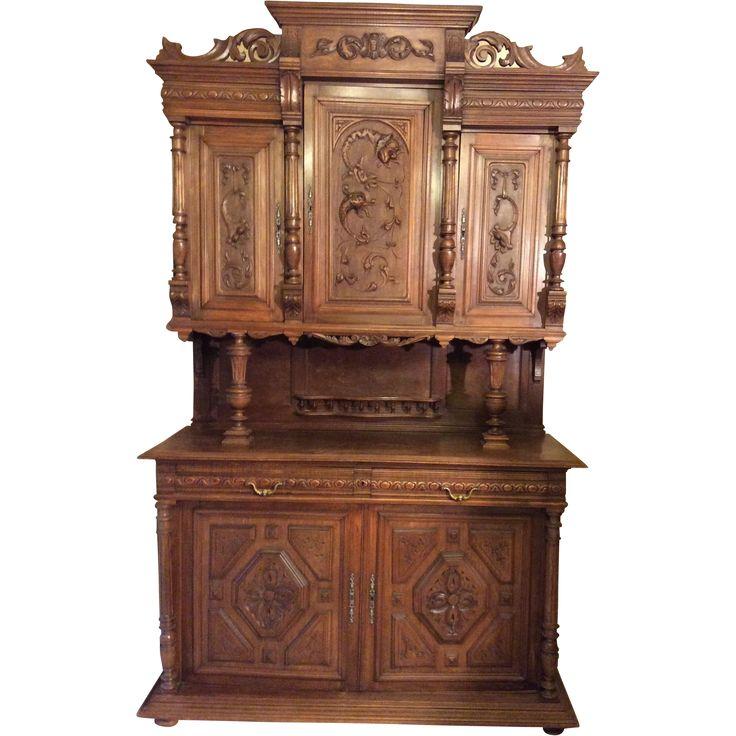 Exceptionnel 69 best mobilier Henri II images on Pinterest | Antique furniture  VK03