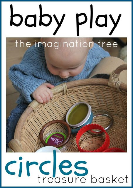 Never too early to introduce the math concept of shapes through play exploration.