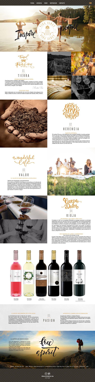 Diseños y packaging para vinos de Rioja en California... www.vinaalday.com/es/