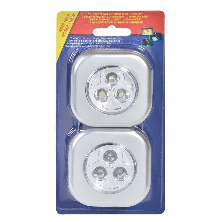 Υλικό: Πλαστικό. Το LED διαθέτει 3 μικρά λαμπάκια. Λειτουργεί με 3 μπαταρίες τύπου ΑΑΑ 1.5 V (R3/AAΑ) (δεν περιέχονται). Αγόρασε μπαταρίες εδώ .