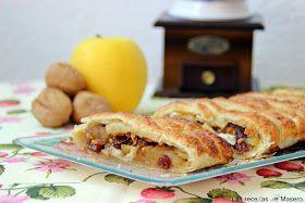 Las recetas de Masero.: Trenza de manzana y frutos secos