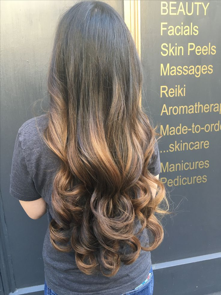 Balayage using L'Oréal,  big voluminous curls created using GHD large Curve