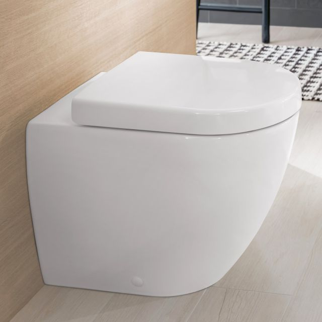 Villeroy And Boch Subway 2 0 Rimless Floor Standing Wc Toilet Seat Hinges Toilets For Sale Luxury Toilet